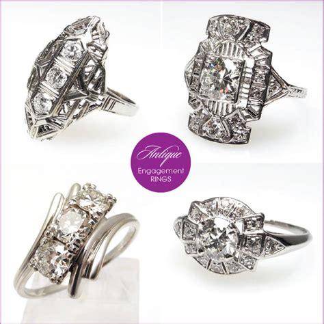 unique deco engagement rings unique engagement rings by eragem the magazine