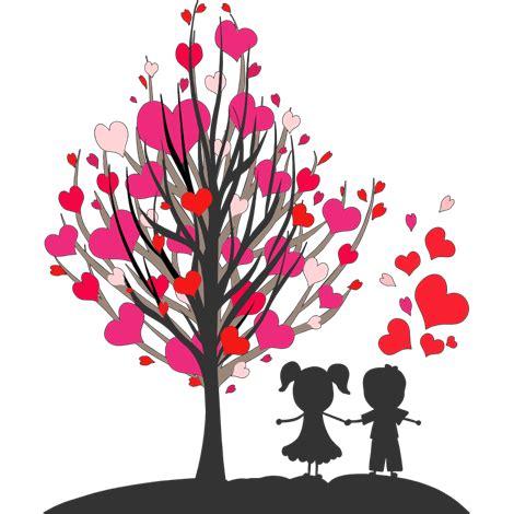 imagenes tumblr png amor imagenes de arboles de corazones con parejas de enamorados