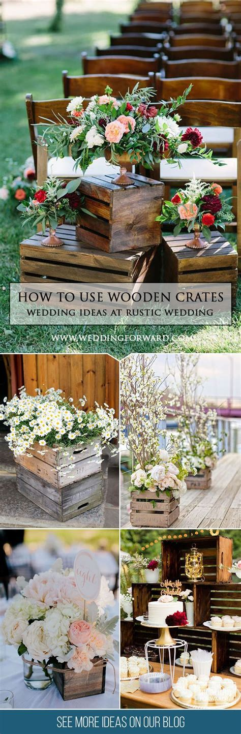 rustic weddings on a budget uk best 25 wooden crates wedding ideas on