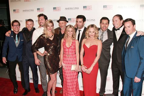 Premiere Thursday Pics From Shoot by Carpet Photos Americons Cast Turns Out For