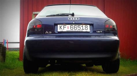 Auspuff Audi A3 by Audi A3 1 8t Exhaust Sound Youtube