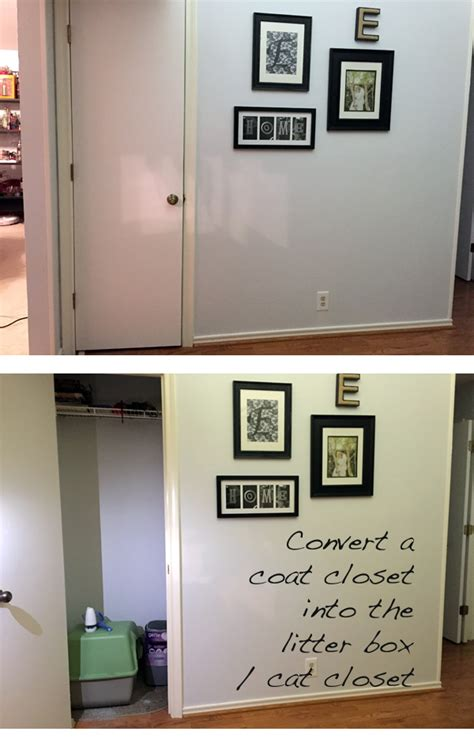 Litter Box In Closet by Confessions Of A Card Carrying Cat Parent Genpink