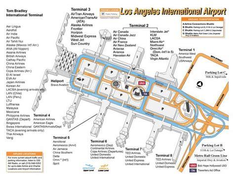 map los angeles lax lax terminal map circa mid 2000s throwback thursday