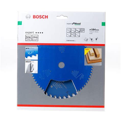 Polijstmiddel Tanden by Bosch Cirkelzaagblad 40 Tanden Wood Abt 184 X 30 X 2 6mm