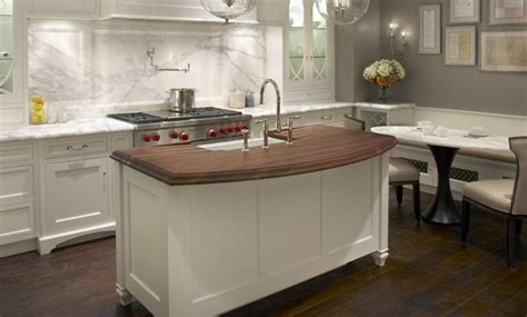 walnut countertop island with sink jpg