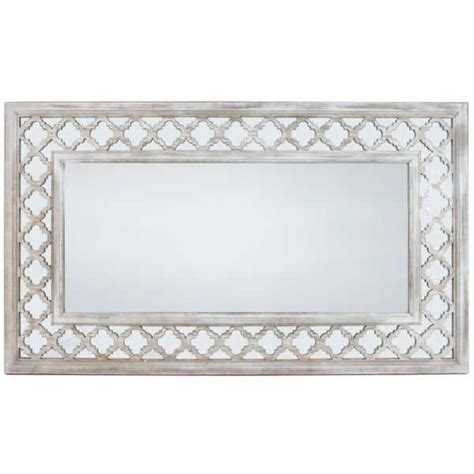 washed ash modern extra large wall mirror extra large