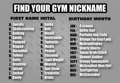 hilarious names name charts nicknames nicknames buff names
