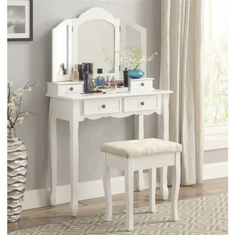 amazoncom roundhill furniture sanlo white wooden vanity