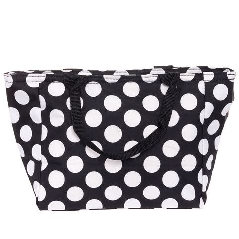 New Longch Totte 9991 silverhooks new womens insulated lunch tote pail bag box ebay