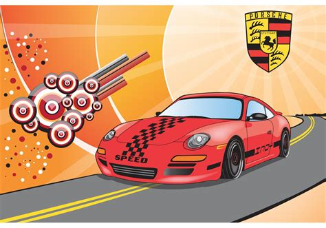 porsche vector porsche free vector download free vector art stock