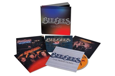Cd Beegees Nostalgia 3 Disc bee gees 1974 1979 audio cd 3 23 2015 box set