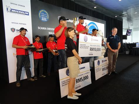 malaysia competition motoring malaysia scania driver competitions 2014 2015