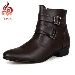 comfortable boots mens 2016 boots leather winter boots waterproof warm