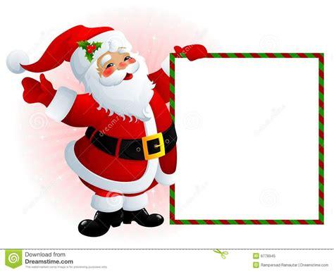 santa claus sign royalty free stock photo image 6778945