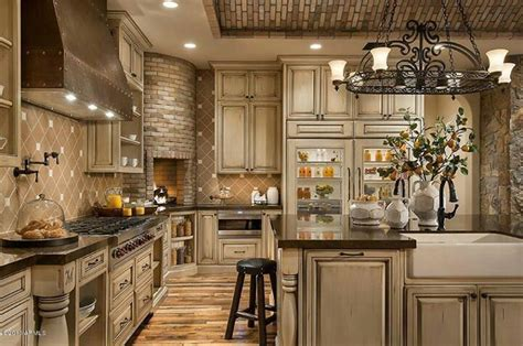 Tuscany Kitchen Cabinets Tuscany Kitchens Tuscan Kitchen Home Decorating Ideas Pinterest Tuscany Kitchen Tuscan