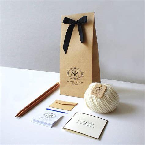 knitting supplies for beginners knitting kit beginner s pom pom hat gift set by stitch