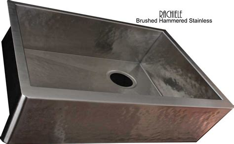 hammered nickel farmhouse sink stainless steel farmhouse apron front workstation sinks