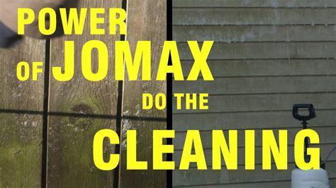 clean mold mildew algae quickly  jomax spray