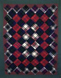 tartan plaid quilts of plaids and checkered fabric