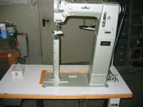 post bed sewing machine sieck adler kl 68 63hhl high post bed sewing machine with drop and needle feed left