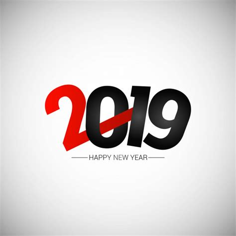 happy  year  design  white background vector