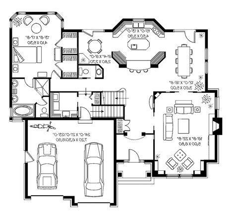 Square house plans modern house floor plan marvelous house plans