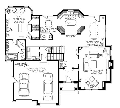 estate house plans indoor pool house design plans