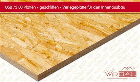 Osb 3 Verlegeplatten by Osb Platten Im Innenausbau Modernise Info