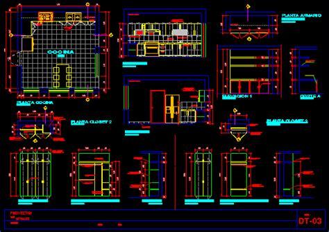 details kitchen cabinets dwg detail  autocad designs cad