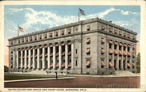 Post Office Muskogee Ok by United States Post Office And Court House Muskogee Ok