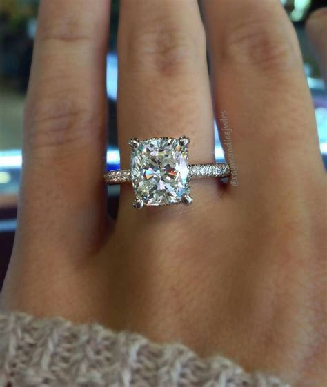 25  best ideas about Cushion Cut on Pinterest   Cushion
