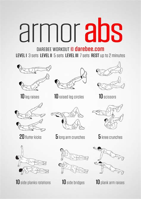 20 best ideas ideal workout images on exercise routines crunches and physical