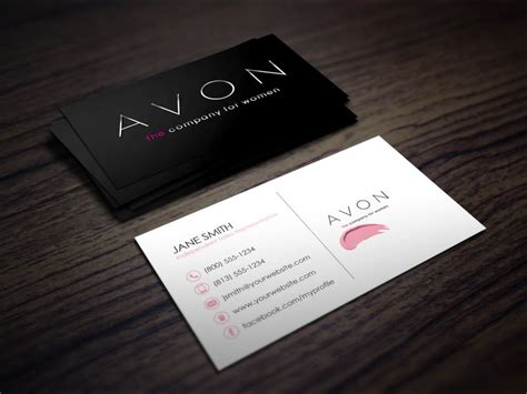 independent consultant business card template 10 best avon business cards images on avon