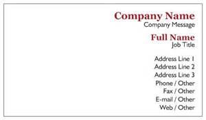 blank business card template vistaprint