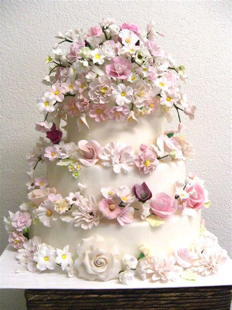 Hochzeitstorte Ja by Hochzeits Torte Rosa Bl 252 Ten Auf Ja De