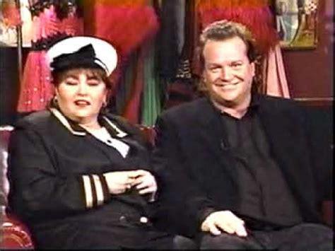 tom arnold youtube matt lauer with roseanne tom arnold 1991 youtube