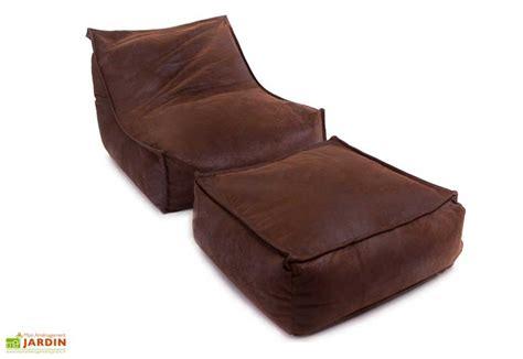 Blus Jumbo pouf g 233 ant coussin jumbo bag blues blues footstool