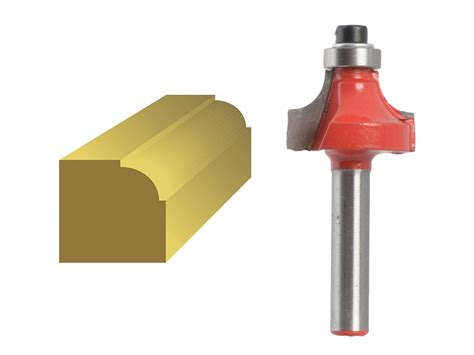 Router Bits 3mm faithfull router bit ovolo 1 4in shank 6 3mm x 13 3mm