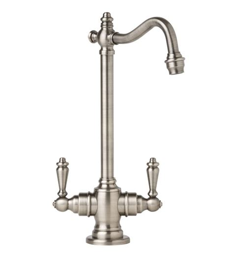 pewter kitchen faucets faucet com 1300 ap in antique pewter by waterstone
