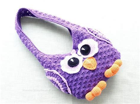 crochet pattern child purse crochet pattern children 180 s bag owl