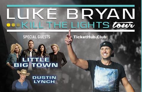 luke bryan kill the lights tour luke bryan tickets tickethub club