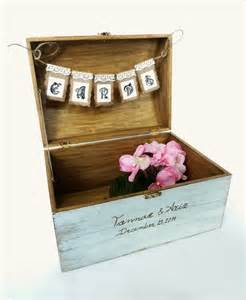 rustic wedding card box holder wedding reception decor wooden