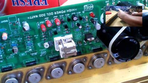 Kit Driver Power Lifier Mono 400 Watt 1000 Watt power lifier 300 watt upgrade ke 600 watt