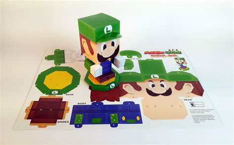 Luigi Papercraft - paper craft mario images craft decoration ideas