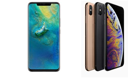 huawei mate 20 pro vs iphone xs max macworld uk