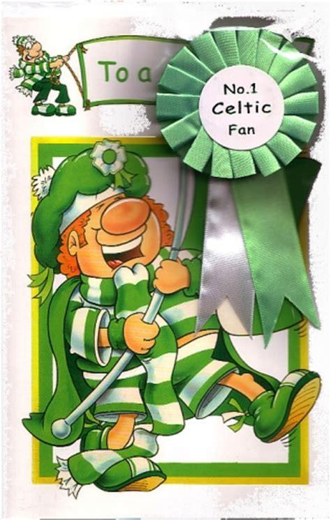 Celtic Football Club Happy Birthday Personalised Braille Card