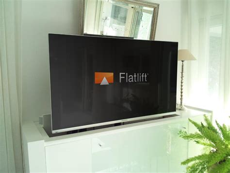 tv im wohnzimmer tv lift projekt flatlift tv lift systeme gmbh