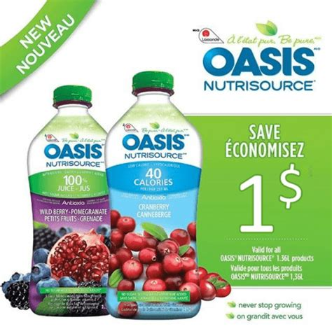 discount voucher oasis gocoupons mail to home coupon save 1 on oasis