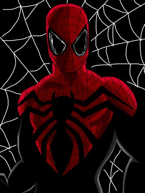 superior spider man pattern spiderman art www imgkid com the image kid has it