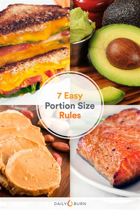 healthy fats serving size 7 portion size for high foods